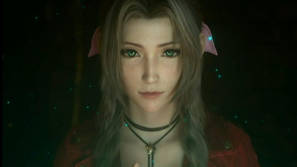 Das Blumenmädchen Aerith sieht wunderschön aus.
