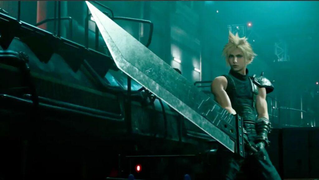 Das Bild zeigt den Protagonisten Cloud in Final Fantasy VII