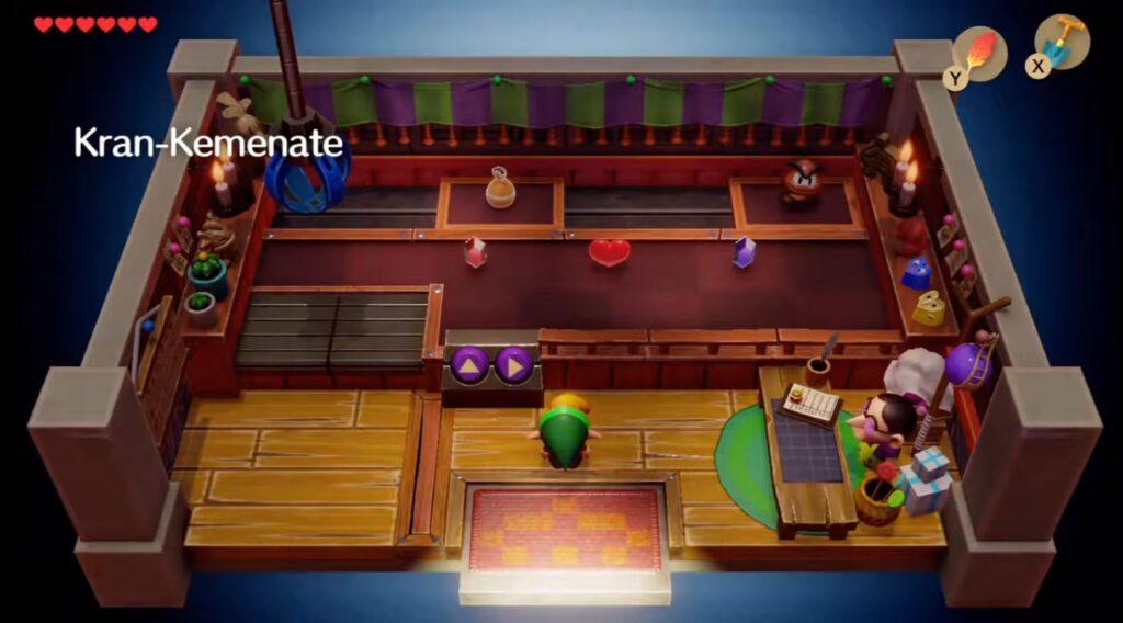Das berühmt-berüchtigte Kranspiel in Link's Awakening