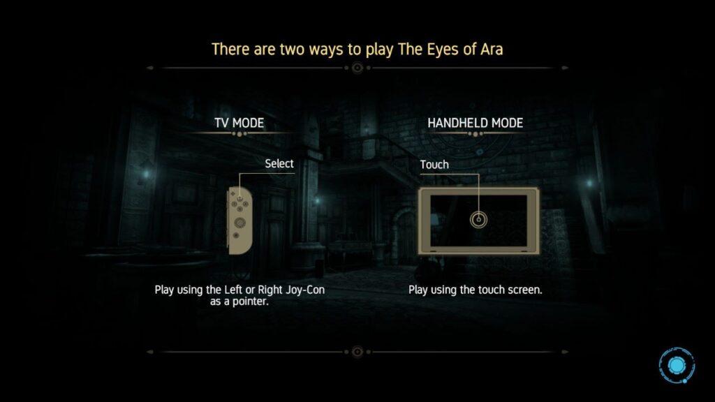 Eyes of Ara Steuerung