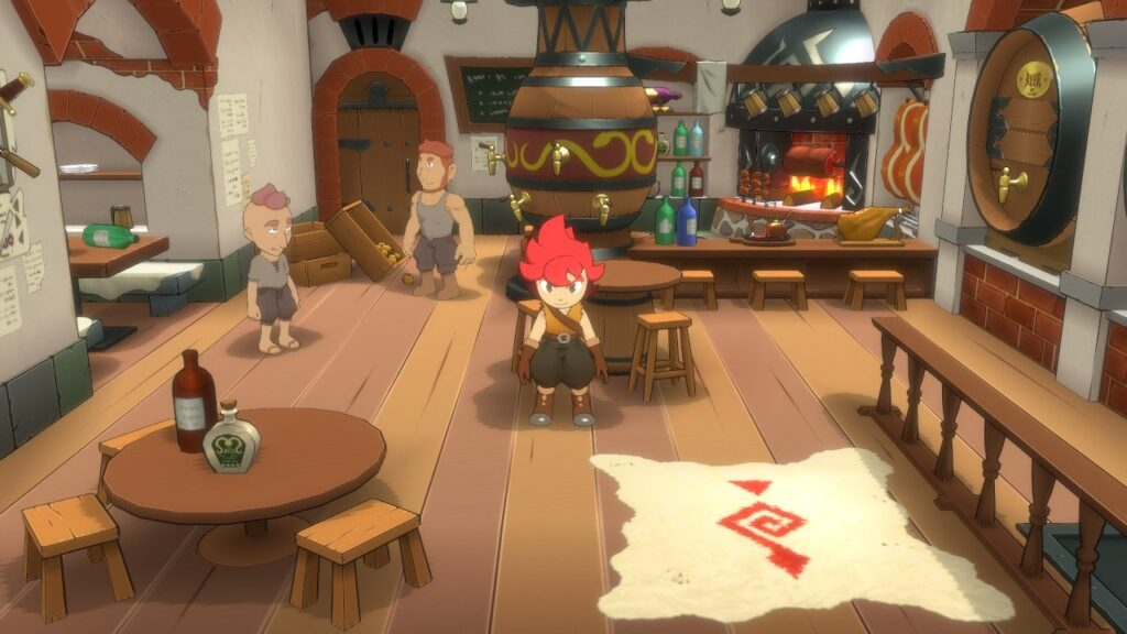 Shops sind zwar schön detailliert, aber man kann nichts kaufen in Little Town Hero
