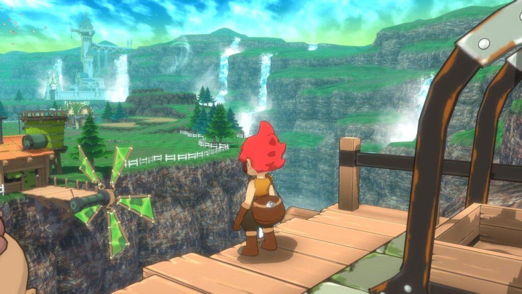Wunderschöne Aussicht in Little Town Hero
