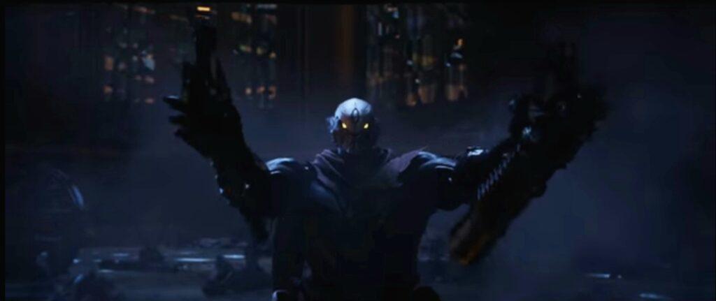 Strife aus Darksiders: Genesis weiß mit seinen zwei Freunden umzugehen