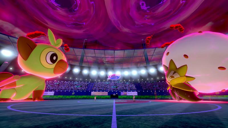 Dynamaximiert eure Pokémon, um stärkere Attacken auf eure Gegner zu wirken