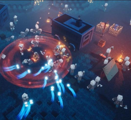 Wilde Kämpfe in düsteren Verliesen fordern uns in Minecraft: Dungeons heraus