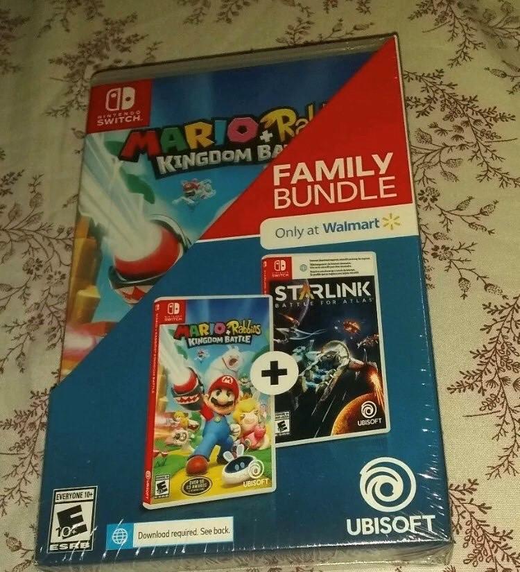 Das exklusive Bundle der Ubisoft-Spiele Mario + Rabbids und Starlink ist bei Walmart aufgetaucht.