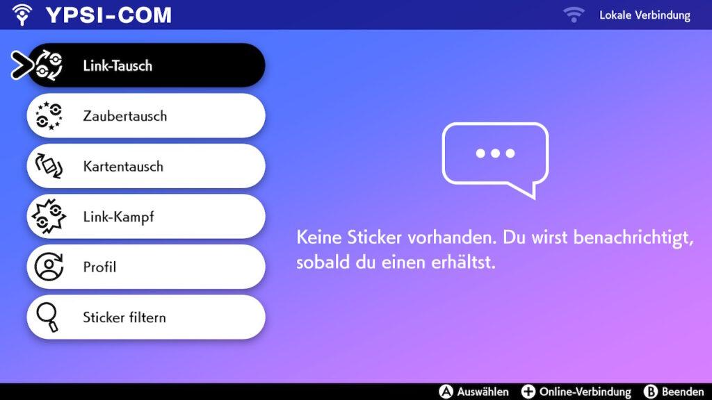 Das Foto zeigt die Funktionen unserer YPSI-Coms, über welchen wir die Online-Funktionen steuern.