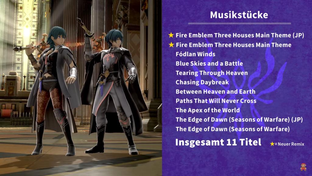 Das Bild zeigt eine Liste von elf Musikstücken, die neu hinzugefügt werden.
