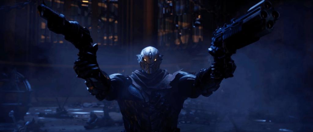 Das Bild zeigt den Protagonisten Strife aus Darksiders Genesis.