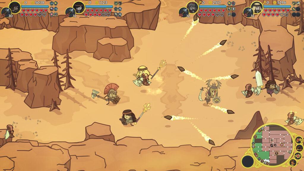 Das Bild zeigt eine Szene aus Conan Chop Chop.