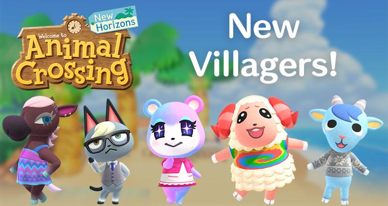 Alle Nachbarn von Animal Crossing: New Horizons - n-Switch ...