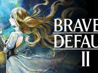 Auf dem Bild ist das offizielle Banner von Bravely Default 2 zu sehen. (Bild: Nintendo)