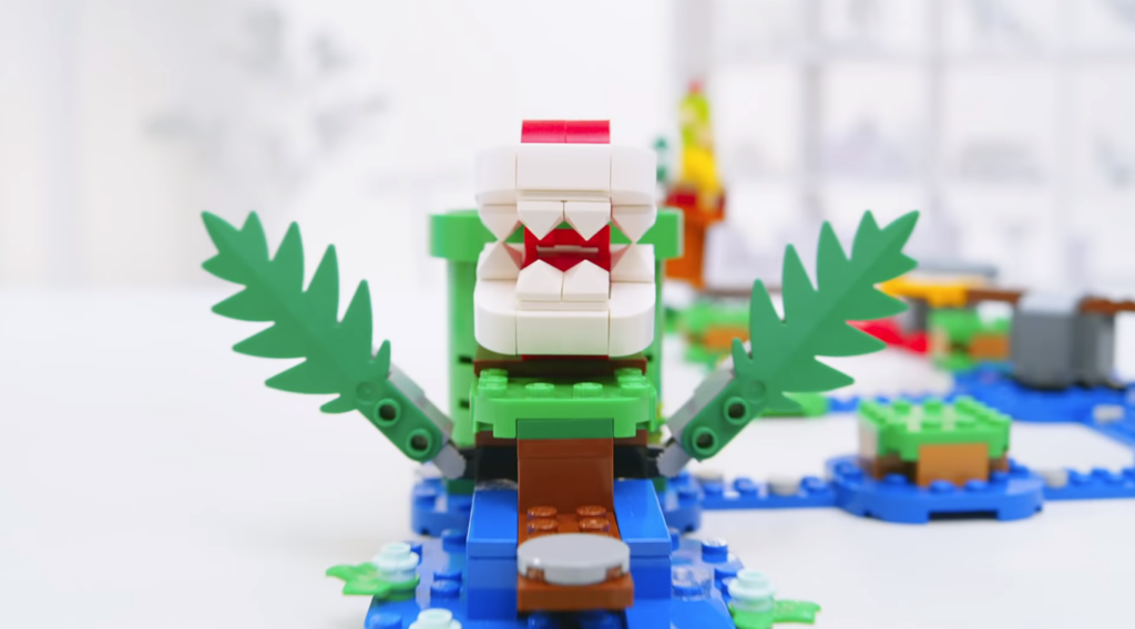 Das Bild zeigt die von Bennink designte Piranha-Pflanze.