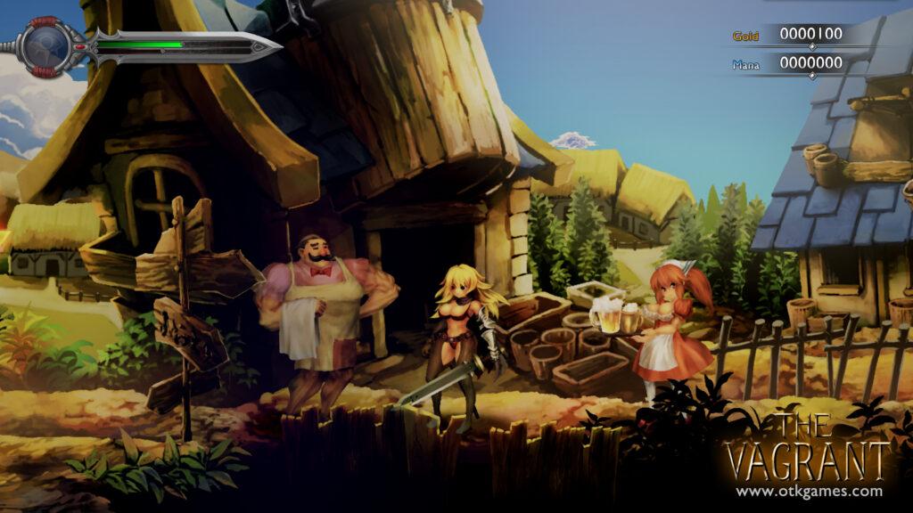 Das Bild zeigt einen Ausschnitt aus dem Game The Vagrant.