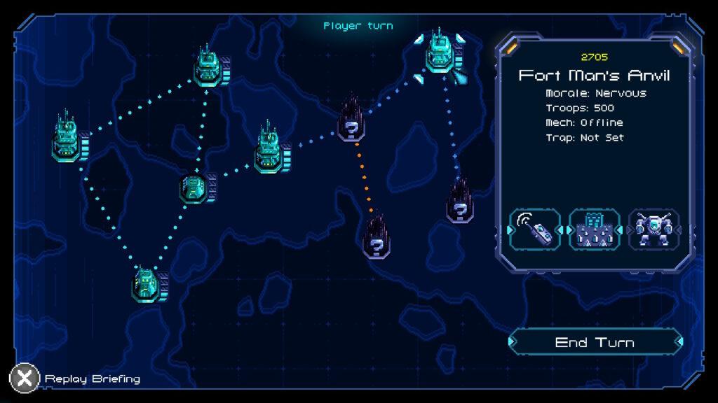 """Das Bild zeigt die Levelübersicht aus dem Game """"Hive Jump""""."""