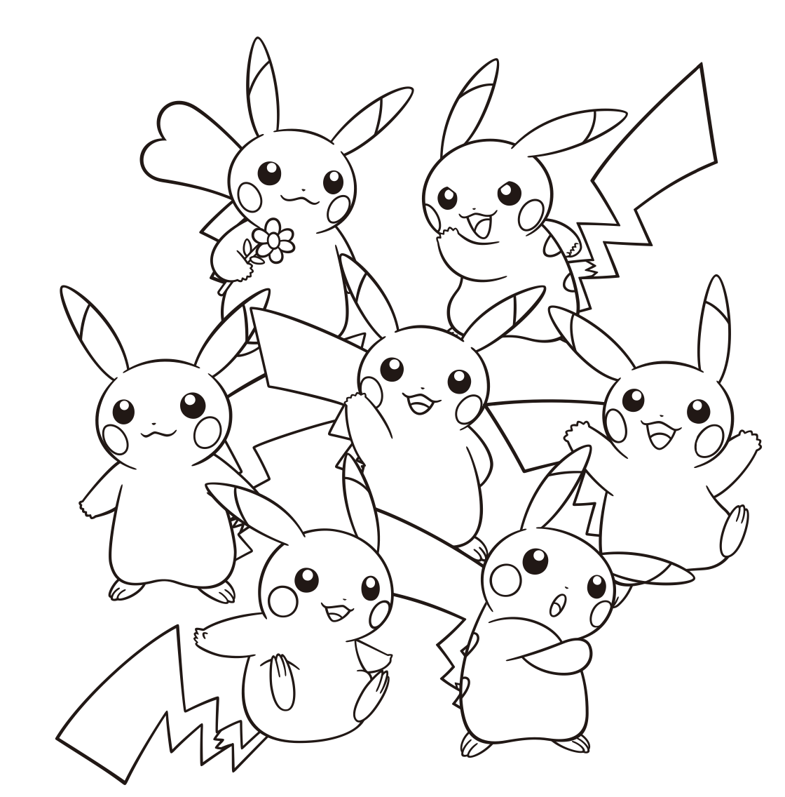 Pokémon: Holt euch offizielle Ausmalbilder - n-Switch-on.de