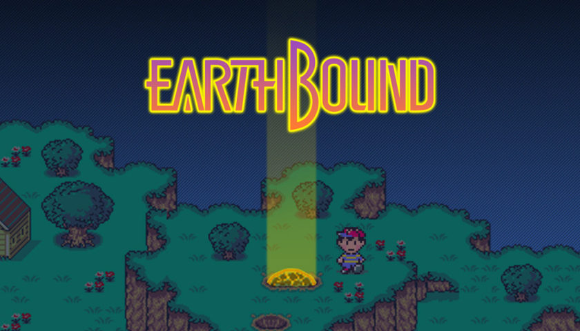 "Das Bild zeigt den Protagonisten Ness in ""Earthbound""."