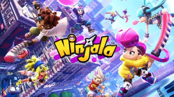 Das Bild zeigt das Ninjala Coverbild