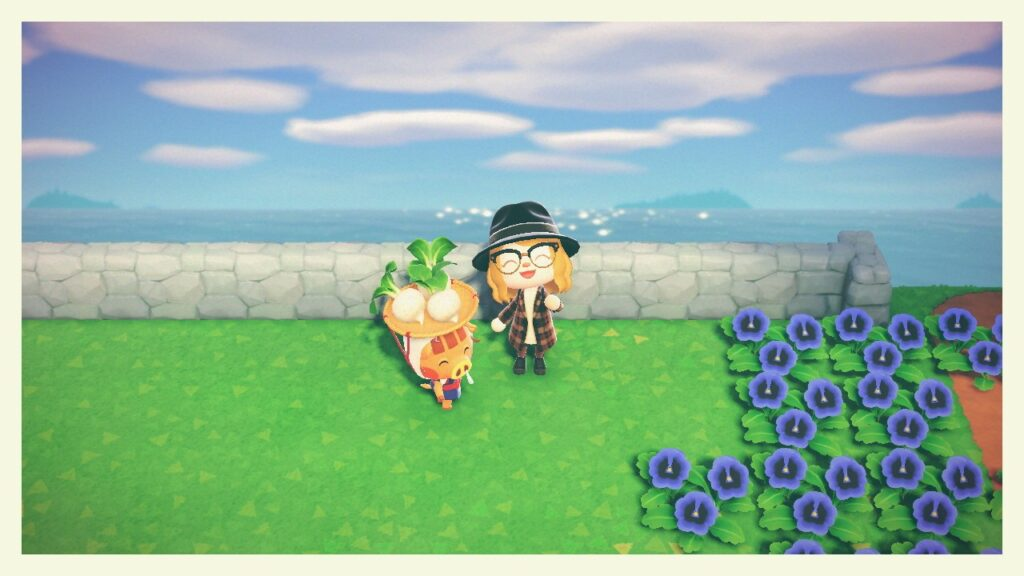"Das Bild zeigt Jorna in ""Animal Crossing: New Horizons""."