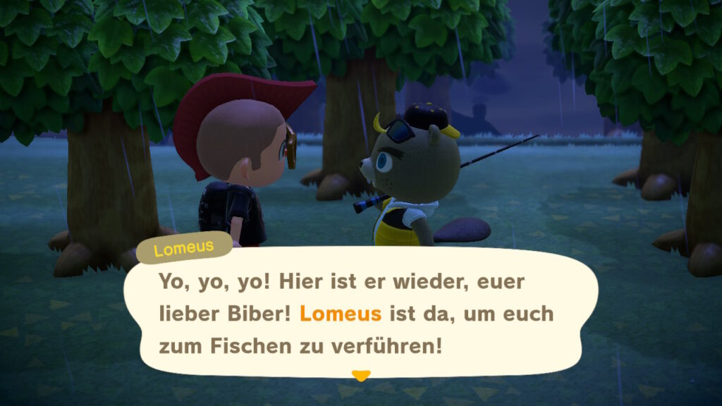 "Das Bild zeigt Lomeus in ""Animal Crossing: New Horizons""."