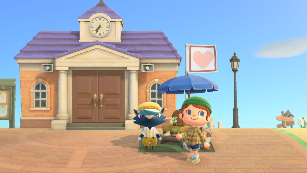 "Das Bild zeigt Schubert in ""Animal Crossing: New Horizons""."