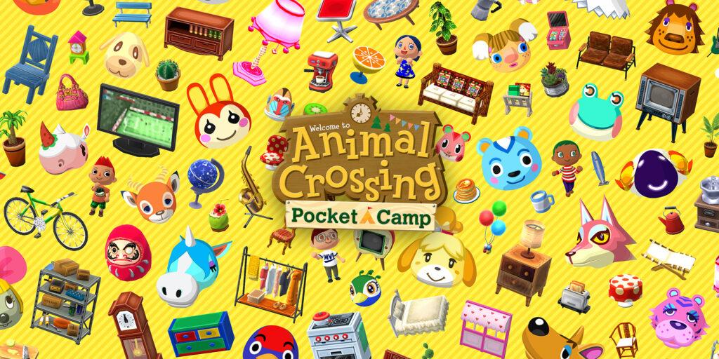 """Das Bild zeigt ein Key-Art zu """"Animal Crossing: Pocket Camp"""", eines der werbewirksamsten Mobile Games."""