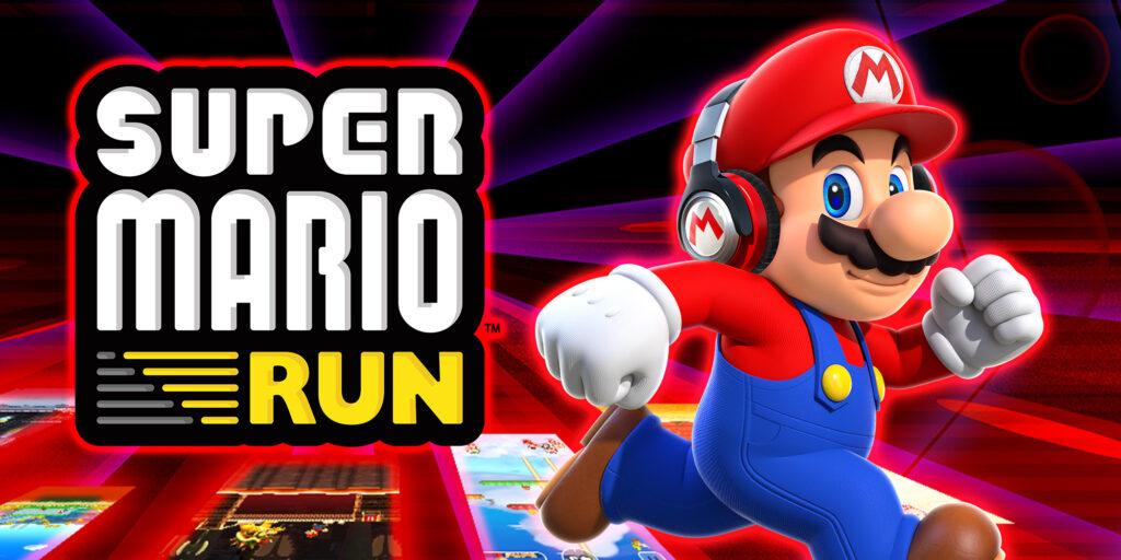 """Das Bild zeigt """"Super Mario Run"""", eines der erfolgreichsten Mobile Games."""