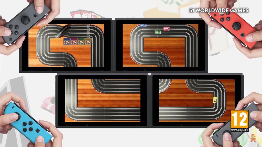 """Das Bild zeigt den Mosaikmodus von """"51 Worldwide Games""""."""