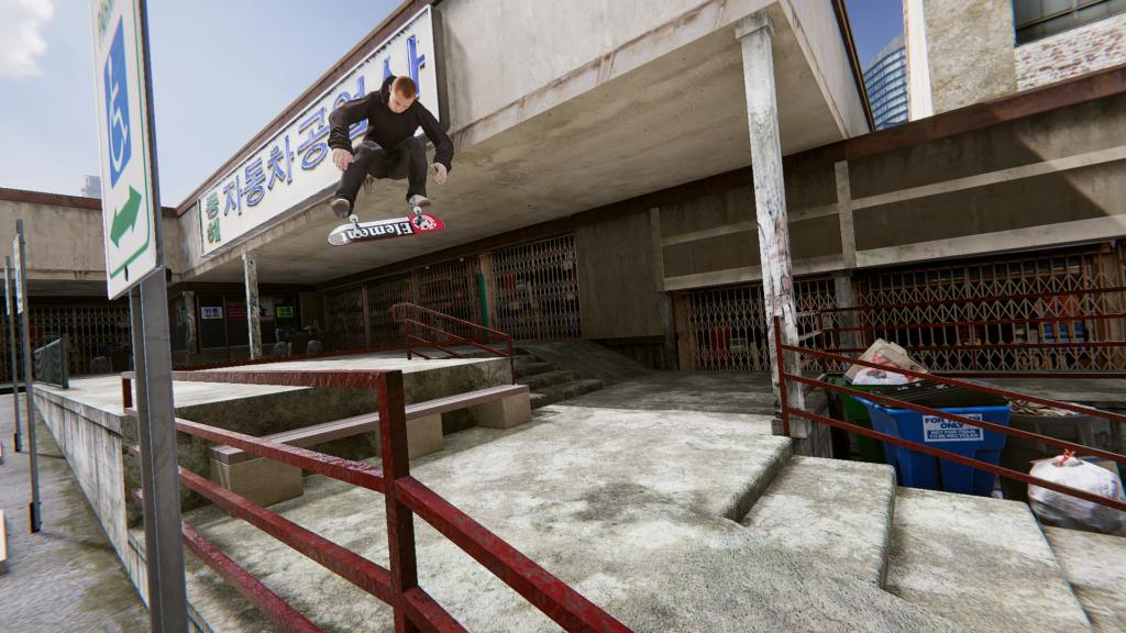 """Das Bild zeigt eine Szene aus """"Skater XL""""."""