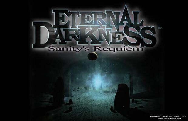 Das Bild zeigt das offizielle Ethernal Darkness Game Cube Hüllencover. Im Zusammenhang zu neue Titel.