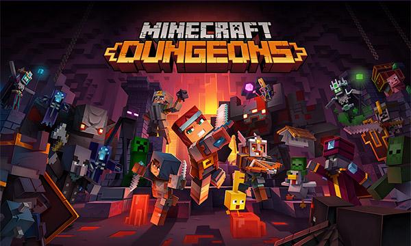 Auf diesem Bild sieht man Minecraft Dungeons