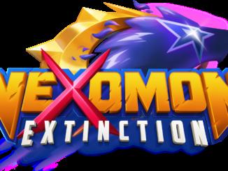 Das Bild zeigt das offizielle Nexomon: Extinction Cover