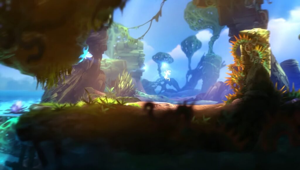 "Das Bild zeigt Moon Studios ""Ori and the Blind Forest"" auf der Switch."