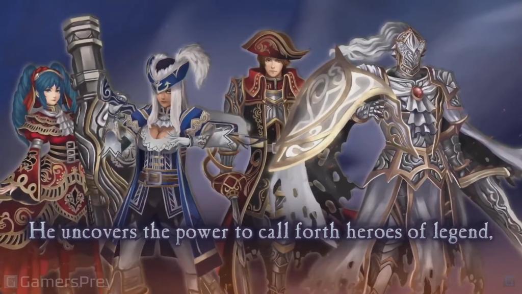 """Das Bild zeigt einige wichtige Charaktere aus dem Spiel """"Fallen Legion: Revenants""""."""