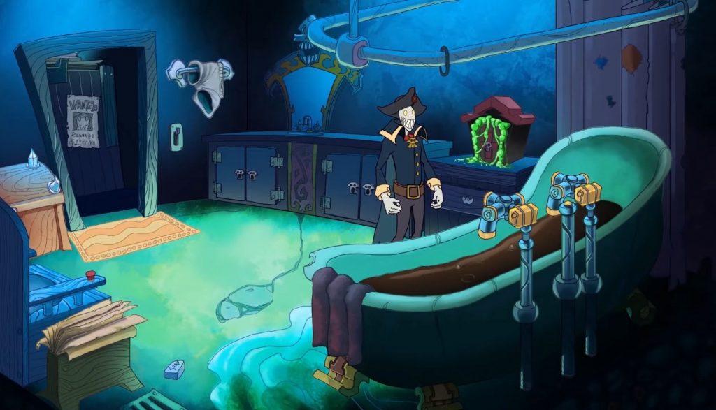 """Das Bild zeigt den Protagonisten aus """"Darkestville Castle""""."""
