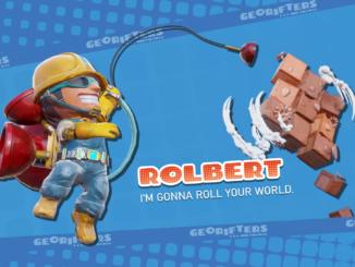 Das Bild zeigt Rolbert aus Georifters